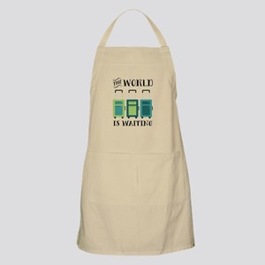 World Is Waiting Apron