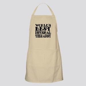 Worlds Best Physical Therapist Apron