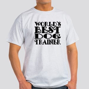 Worlds Best Dog Trainer T-Shirt