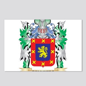 Bennetto Coat of Arms - F Postcards (Package of 8)