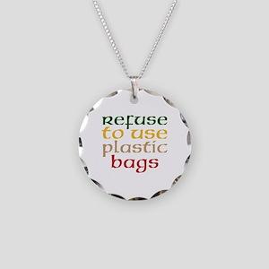 Plastic Bags Necklace