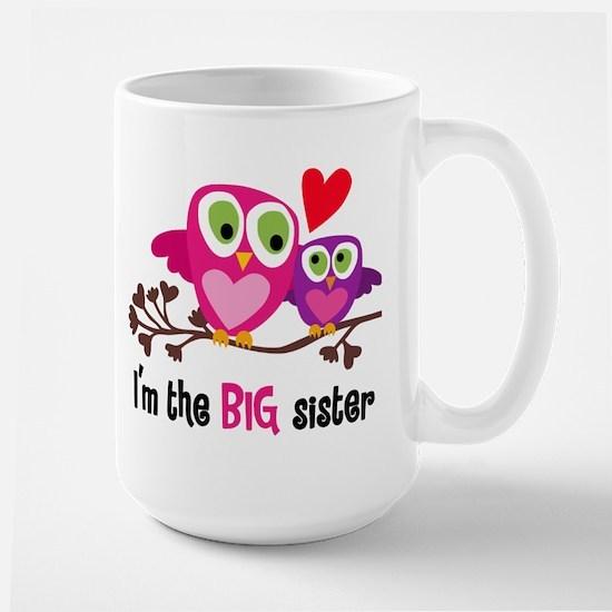 Big Sister Owl Mugs