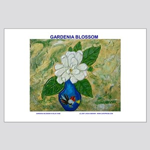 Gardenia in Bud Vase Large Poster