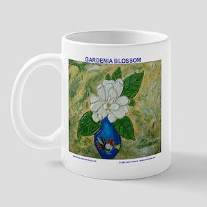 Gardenia in Bud Vase Mug