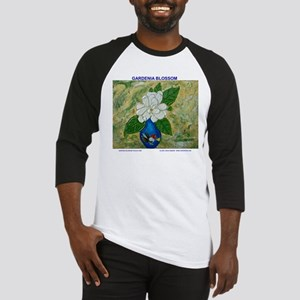 Gardenia in Bud Vase Baseball Jersey