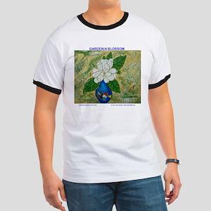 Gardenia in Bud Vase Ringer T