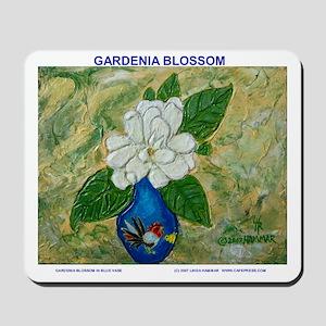 Gardenia in Bud Vase Mousepad
