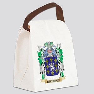 Bergeron Coat of Arms - Family Cr Canvas Lunch Bag