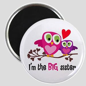 Big Sister Owl Magnets