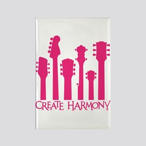 CREATE HARMONY Rectangle Magnet