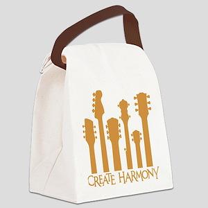 CREATE HARMONY Canvas Lunch Bag