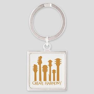 CREATE HARMONY Square Keychain