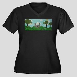 Magic Castle Plus Size T-Shirt