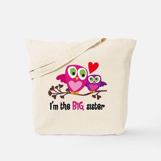 Big Sister Owl Tote Bag