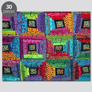 CP-log cabin quilt1.png Puzzle
