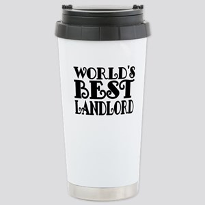 Worlds Best Landlord Travel Mug