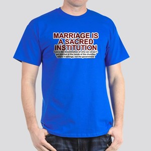 Marriage Is Sacred Dark T-Shirt