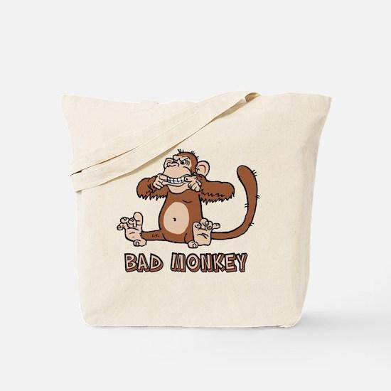 Bad Monkey Tote Bag