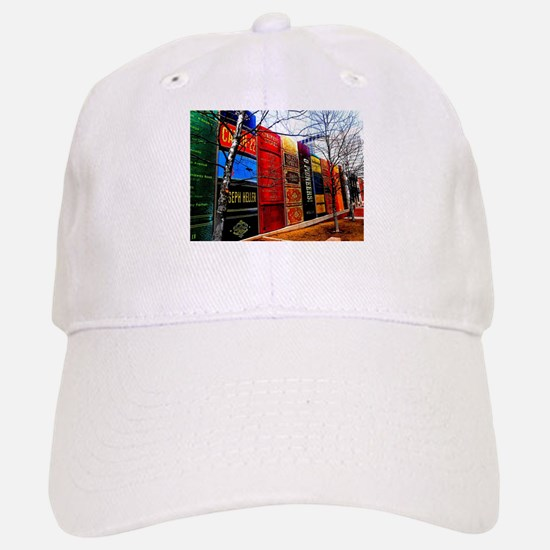 Block of Books! Baseball Baseball Cap