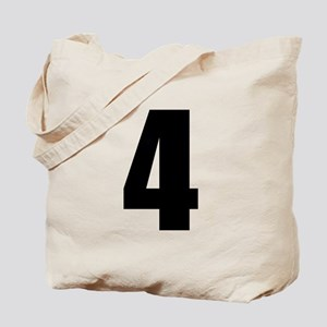 Number Four - No. 4 Tote Bag