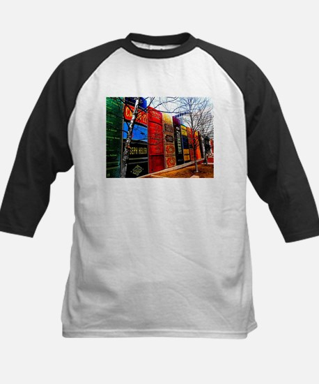 Block of Books! Baseball Jersey