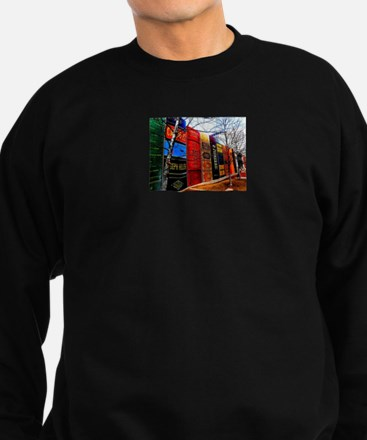 Block of Books! Sweatshirt (dark)