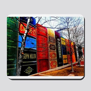 Block of Books! Mousepad