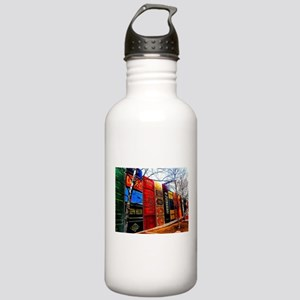 Block of Books! Stainless Water Bottle 1.0L
