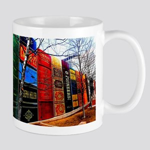 Block of Books! Mugs