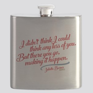 Think Any Less Of You Nashville Flask