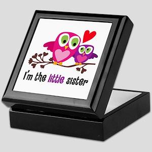 Little Sister Owl Keepsake Box