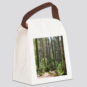 Forest Trail Canvas Lunch Bag