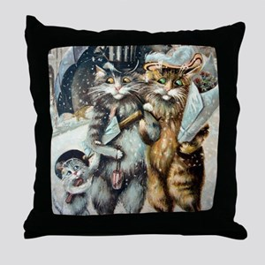 Shopping Throw Pillow