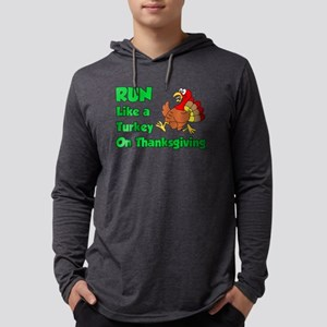 Run Turkey Thanksgiving Long Sleeve T-Shirt
