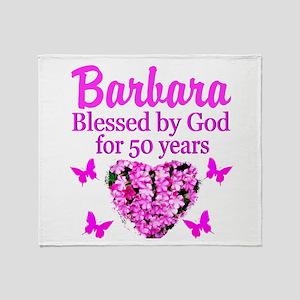 50 YR OLD PRAYER Throw Blanket