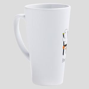 Acupuncture 17 oz Latte Mug