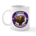 Kansas Free Mason Mug