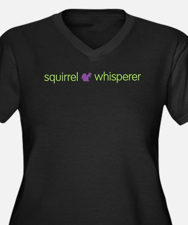 Funny Squirrel Plus Size T-Shirt