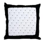 Baby Harp Seal Pattern Throw Pillow