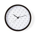 Baby Harp Seal Pattern Wall Clock