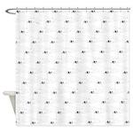Baby Harp Seal Pattern Shower Curtain