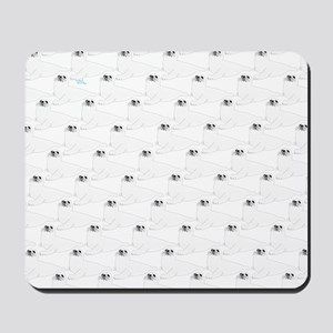Baby Harp Seal Pattern Mousepad
