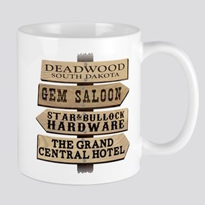 Deadwood Sign Post Mugs