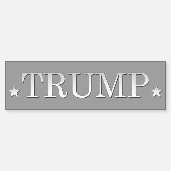 Trump For President Bumper Bumper Bumper Sticker