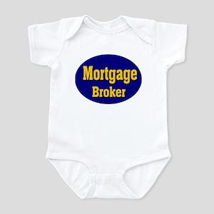 Mortgage Broker Infant Bodysuit