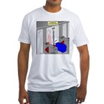 An American Suitcase in Paris Fitted T-Shirt