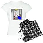 An American Suitcase in Par Women's Light Pajamas