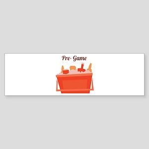 Pre-Game Bumper Sticker