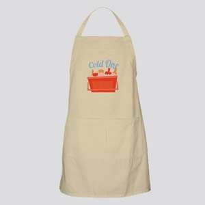 Cold One Ice Chest Apron