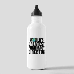 World's Greatest Pharmacy Director Water Bottl